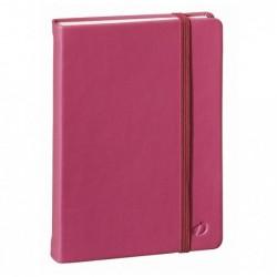 QUO VADIS HABANA Carnet de note emboité 10x15cm 192 pages lignée Couv rose framboise