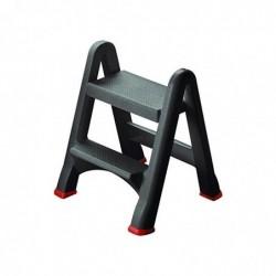 RUBBERMAID Marche-pieds pliable capacité 150kg 48x17x63 cm.