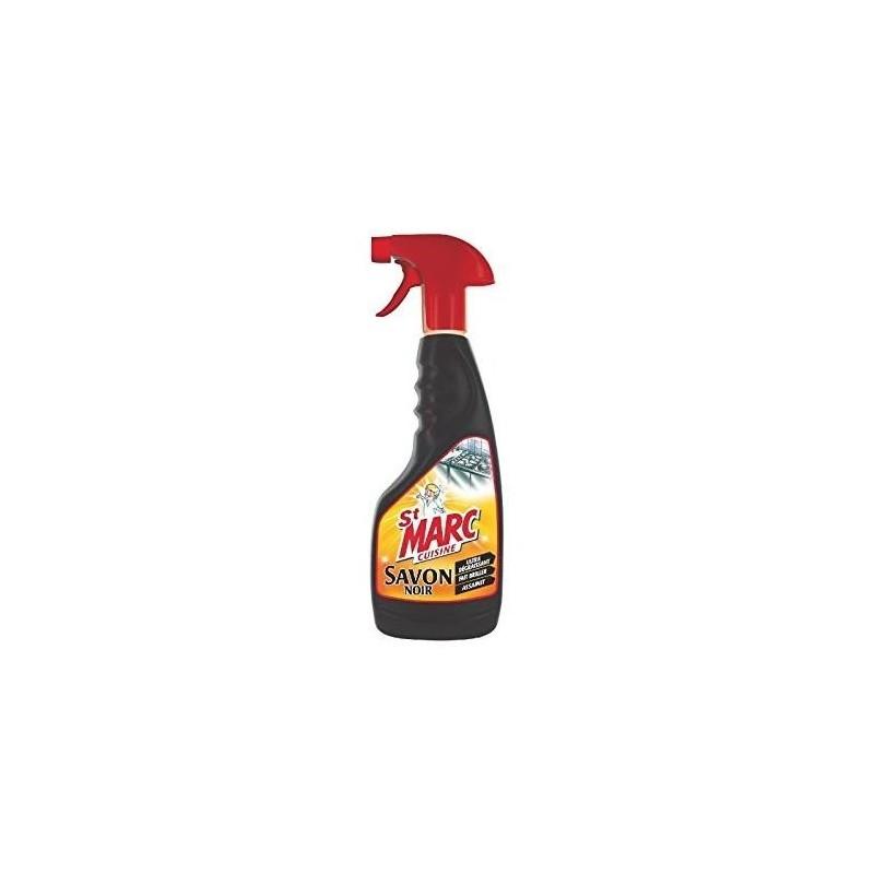 ST-MARC Spray nettoyant cuisine au savon noir 500 ml, parfum fleur d'oranger