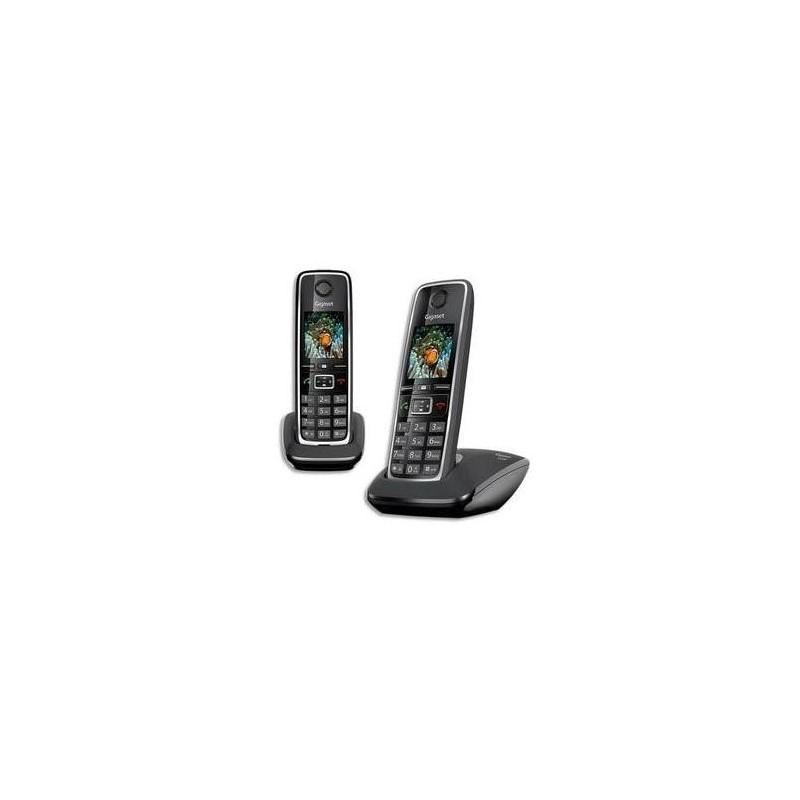 GIGASET Téléphone sans fil sans répondeur C530 DUO