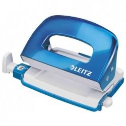 LEITZ Mini perforateur Nexxt WOW 5060, bleu métallique