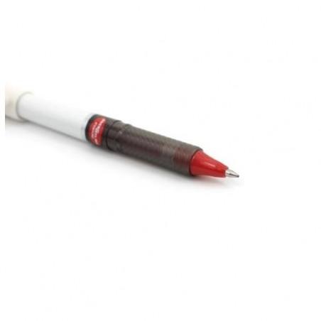 PENTEL Pentel EnerGel Stylo roller à encre gel Tradio BL117W, rouge