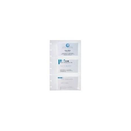 ELBA Sachet de 10 pochettes pour 150 cartes visite Proline 125x205 mm
