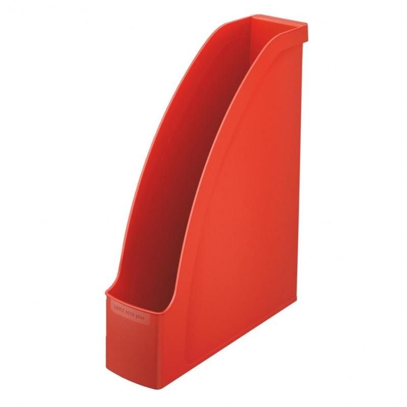 LEITZ Porte-revues Plus pour A4 polystyrène Dos 70 mm 78 x 300 x 278 Rouge clair