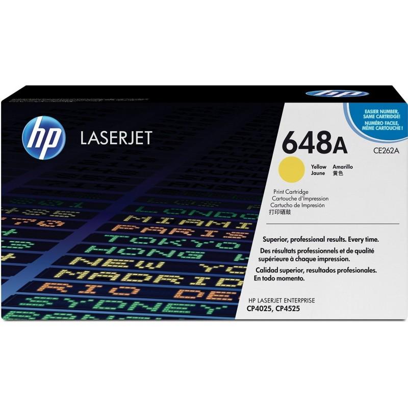 HP Cartouche laser CE262A Jaune