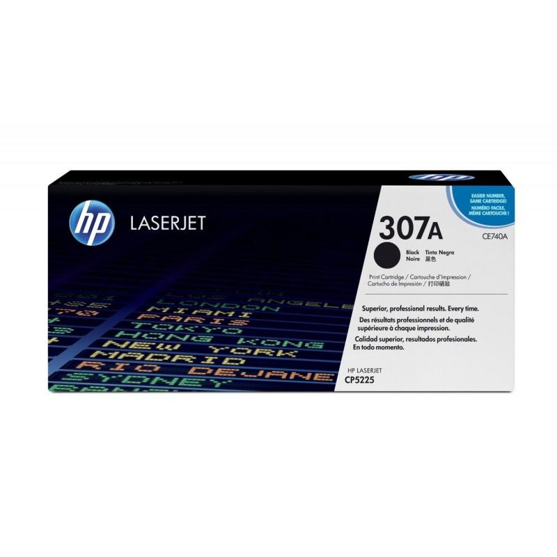HP Cartouche laser N) 307A Noire CE740A