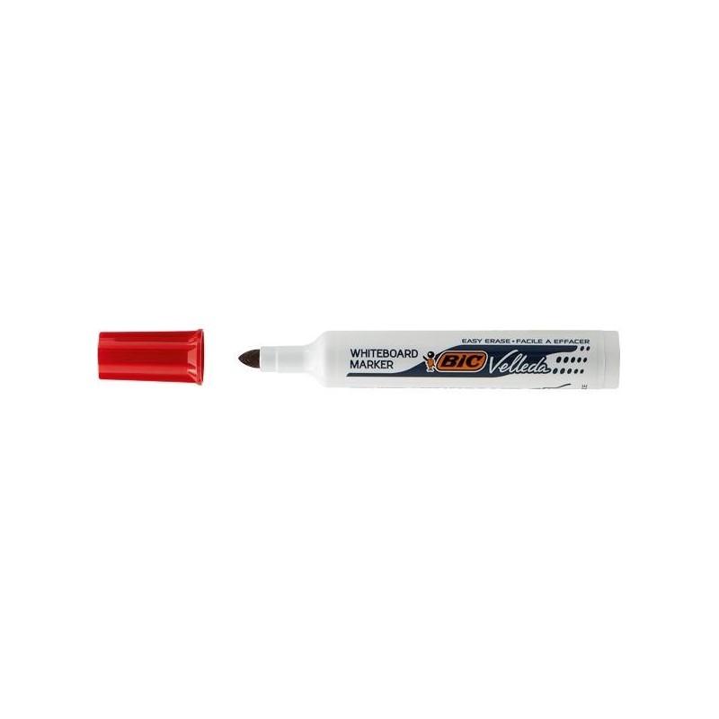VELLEDA Feutre tableau blanc effaçable à sec 1711 Pte Ogive Large Rouge
