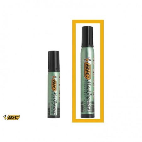 BIC Marqueur Permanent MARKING ONYX 1592 MAXI Pte ogive Trait 1,5 mm Noir