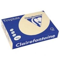 TROPHÉE Ramette 500 Feuilles Papier 80g A3 420x297 mm Certifié FSC  CHAMOIS