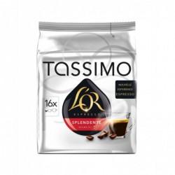 """MAISON DU CAFÉ Sachet 16 doses Tassimo L'OR """"Expresso Splendente"""" N° 7"""
