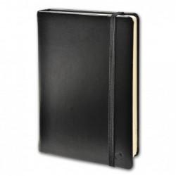 QUO VADIS Carnet de note emboité 10x15cm 192pages lignée Couverture noire