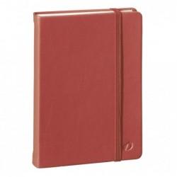 QUO VADIS HABANA Carnet de note emboité 10x15cm 224pages lignée Couverture rouge