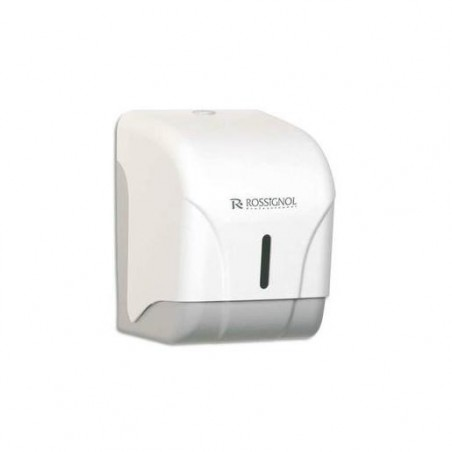ROSSIGNOL Distributeur Oléane 1 rouleau ou 2 paquets papier toilette blanc