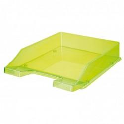 HAN Corbeille à courrier - colori transparent vert néon