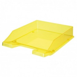HAN Corbeille à courrier - colori transparent jaune néon