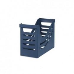 JALEMA Bac de classement en polystyrène pour dossiers suspendus. Capacité 15 dossiers. Coloris bleu.
