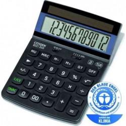 CITIZEN Calculatrice de bureau 12 chiffres certifiée Blue Angel