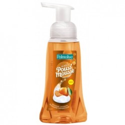 PALMOLIVE Flacon 250 ml mousse lavante Pouss'Mousse volumineuse et compacte  Mandarine