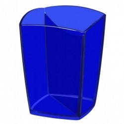 CEP Pot à crayons bleu transparent 530T
