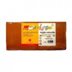 SOLARGIL Pain de 5 kg d' argile naturelle Modelage Rouge
