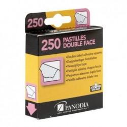 PANODIA Boîte distributrice de 250 pastilles adhésives double face