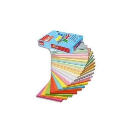 PAPYRUS Ramette de 250 feuilles papier couleur ADAGIO copieur, laser, jet d'encre 160g format A3 vert vif