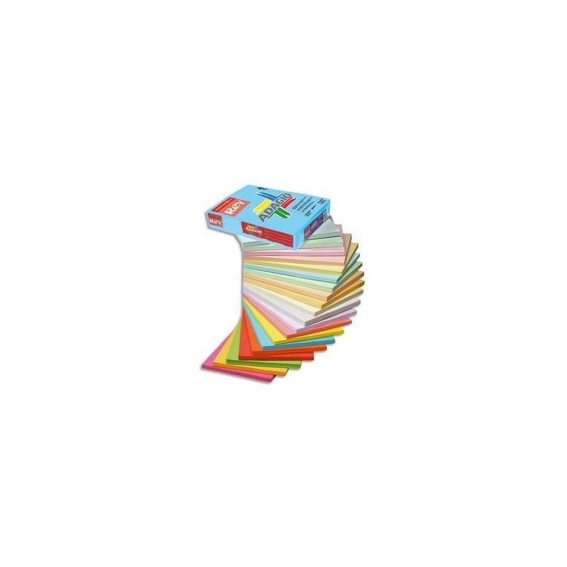 PAPYRUS Ramette de 250 feuilles papier couleur ADAGIO 160g A3 Canari