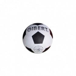 FIRST LOISIRS Ballon football sport caoutchouc sur carcasse Nylon surface grainée taille 5