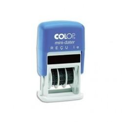 COLOP Dateur à encrage automatique et formule commerciale, empreinte bicolore : SAISI LE