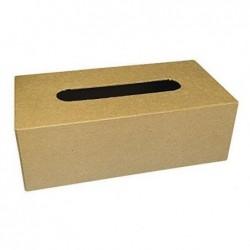 PW INTERNATIONAL Boîte mouchoirs carton à décorer 23,5x12x7,5cm