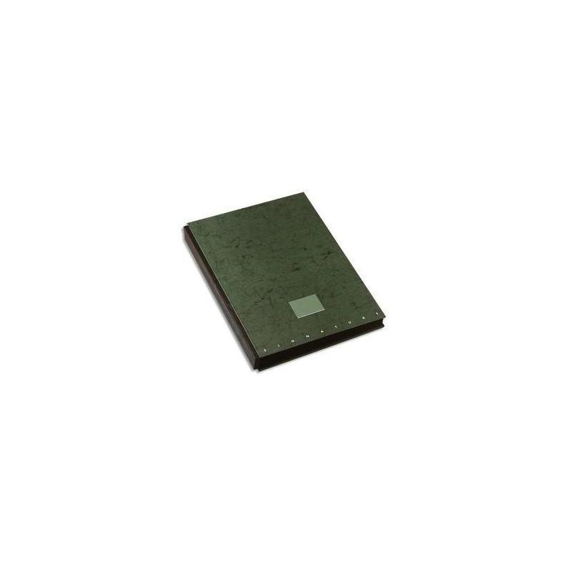 ELBA Parapheur Signature 24 compartiments vert, couverture pelliculée imprimée