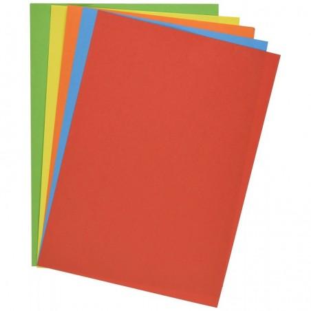PAPETERIES DE FRANCE Ramette 100 feuilles x 5 teintes ADAGIO 80g format A4 Assortis intenses