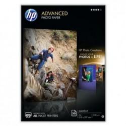 HP paquet de 50 feuilles papier brillant 250g A4