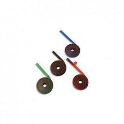 BI-OFFICE Ruban magnétique de 1cm x 5m rouge