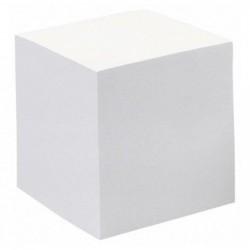 QUO VADIS QUO VADIS Bloc cube blanc 9x9x9cm 700 feuilles encollées 90g PEFC
