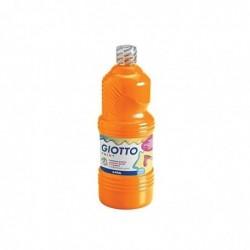 GIOTTO Flacon 1 Litre de Gouache Orange