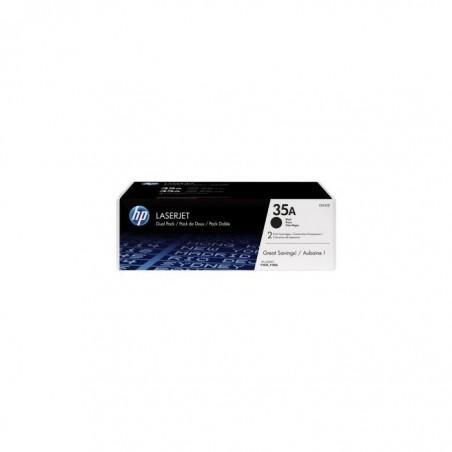 HP HP Lot de 2 Toner Noir pour LJ P1005/P1006CB435AD-CB435AD