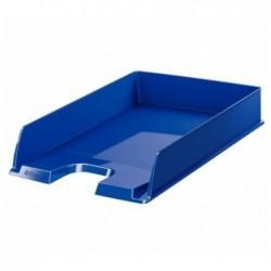 ESSELTE Corbeille à courrier EUROPOST Bleu Opaque  pour format A4