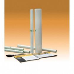 APLI Rouleau couvre livre Qualité Brillant 80 Microns Repositionnable 0,50x20 m