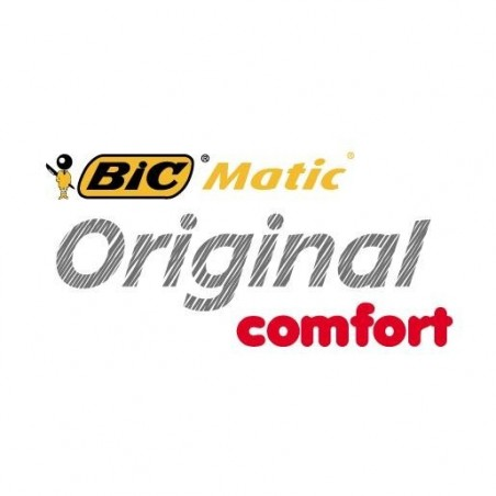 BIC Porte mines NON rechargeable MATIC GRIP Bicolore HB 0,7 mm