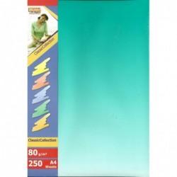 DECADRY Papier de communication A4 80g 250 feuilles Dégradé Recto Verso Bleu