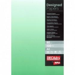DECADRY Papier de communication A4 80g 100 feuilles Dégradé Recto Vert