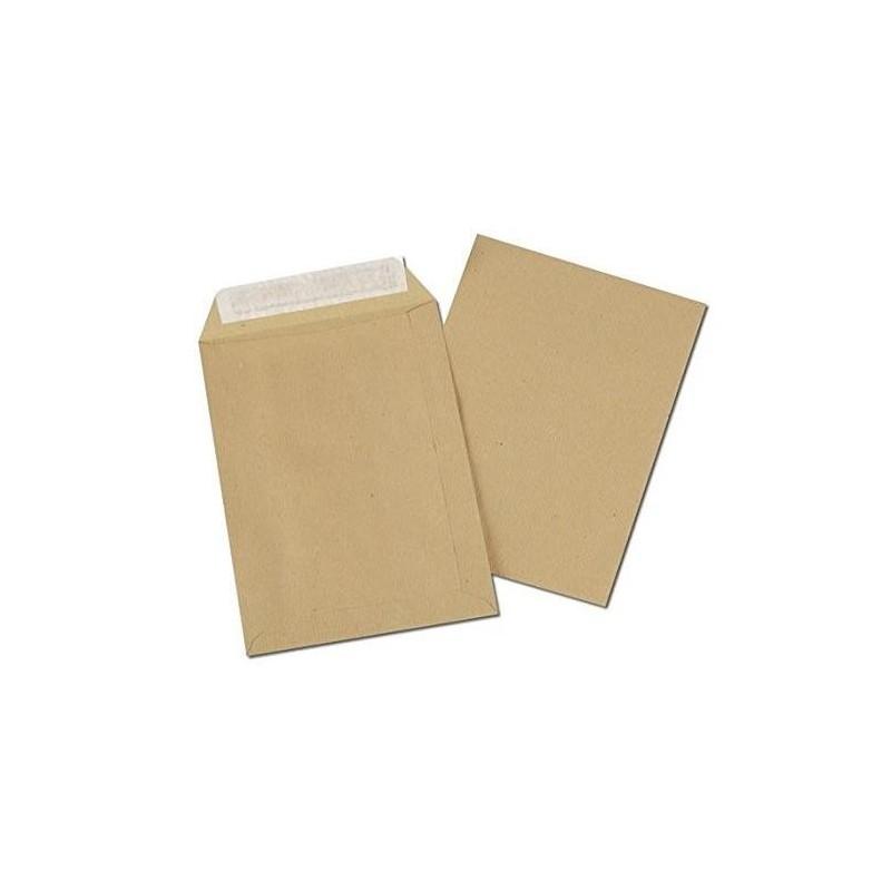 5 ETOILES Boîte de 250 pochettes kraft autoadhésif 90g format 229x324mm C4