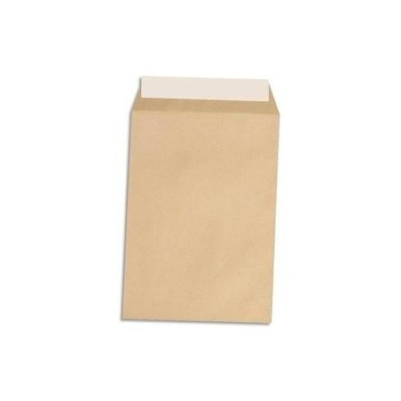 5 ETOILES Boîte de 500 pochettes kraft autoadhésif 90g format C5 162x229mm