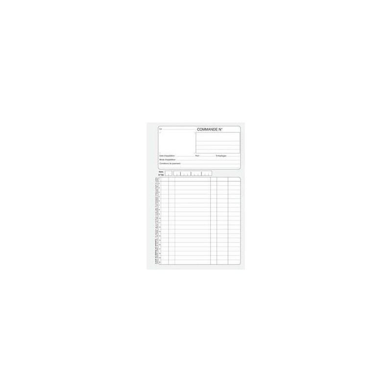 5 ETOILES Manifold autocopiant facture 148x210 mm feuillets dupli