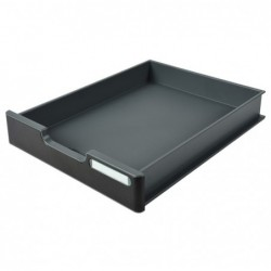 EXACOMPTA Tiroir pour Modulodoc case standard H54 mm Noir