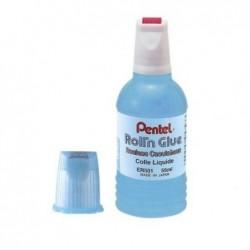 PENTEL Colle synthétique transparente / flacon roulette 55 ml