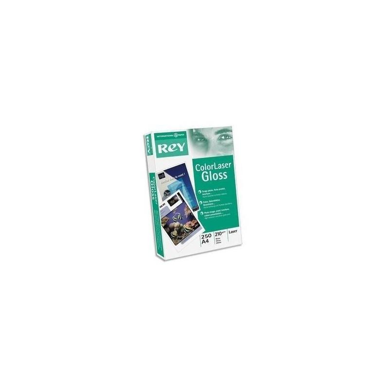 PAPETERIES DE FRANCE Ramette de 250 feuilles papier blanc PRODESIGN GLOSS 200g format A4