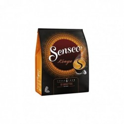 """SENSEO Paquet de 32 dosettes de café moulu """"Kenya"""" mélange Arabica 222g"""