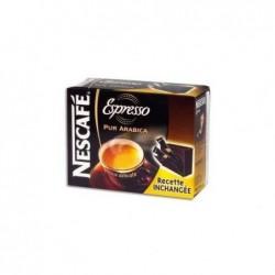 NESTLE Boîte de 25 sticks de café instantané pur Arabica Espresso de 1,8g